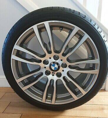 """1 x Genuine M Sport BMW 19"""" 403M 3 or 4 Series Rear Alloy Wheel F30 F31 F32 F33"""