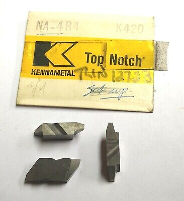 1 Kennametal Na-4r4 Acme Threading Top Notch Carbide Inserts Grade K420 Na4r4