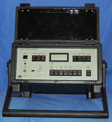 Bruel Kjaer Receiver Type 4419 Speech Transmission Meter Receiver Only