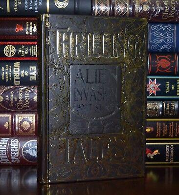 Alien Invasion Short Stories Lovecraft Wells Verne Swift  New Gift Hardcover