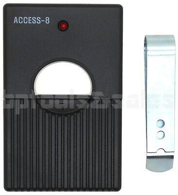 8 Digit Code Remote Control Garage Door/Gate Transmitter Opener MultiCode 310Mhz ()