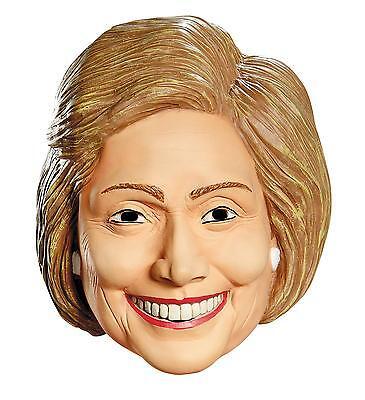 HILLARY RODHAM CLINTON LATEX MASK DEMOCRATIC POLITICAL COSTUME - Clinton Mask