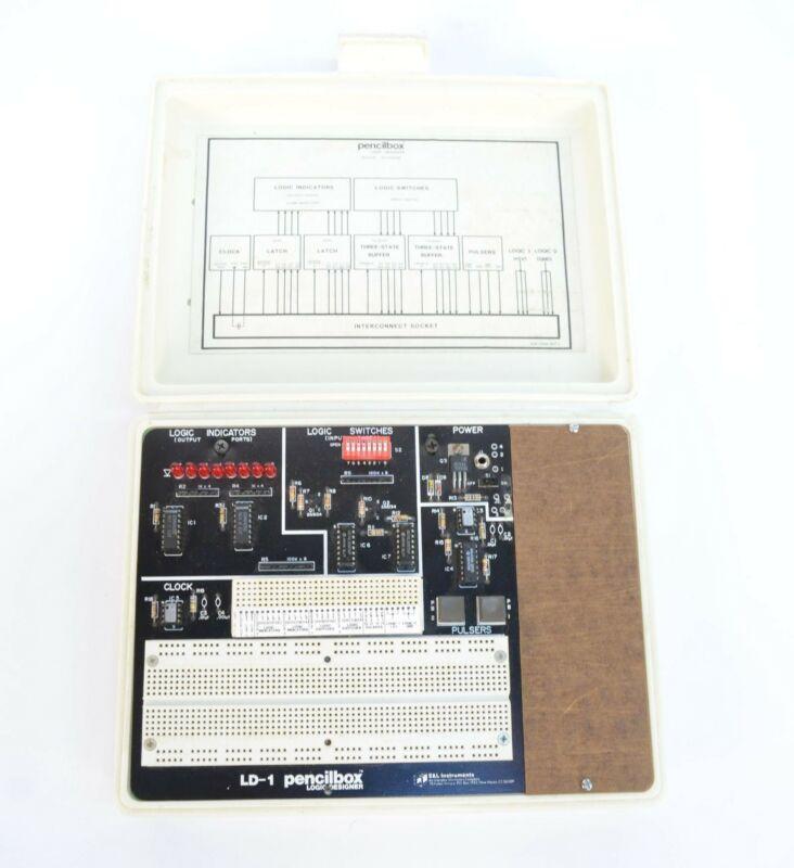 E&L Instruments Pencilbox LD-1 Logic Designer Circuit Training Kit + 6V Adapter
