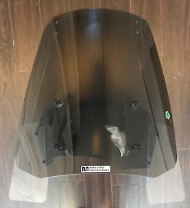 """Madstad Ajustable 22"""" windshield for motorcycle, came off BMW"""