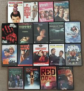 Dvd Lot (Action, Horror, Thriller, 80's)