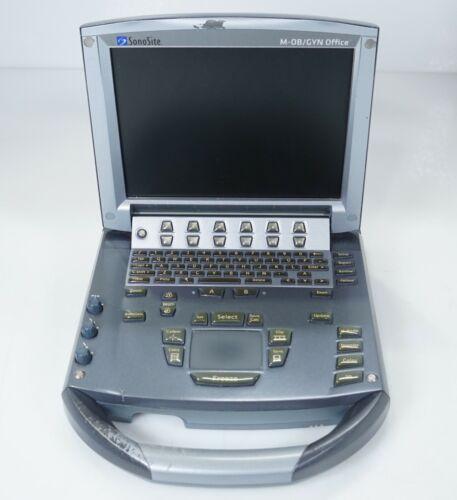 Sonosite M-Turbo Ultrasound System P08189-77R w/ Minidock M-Series