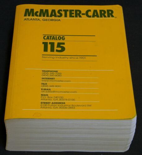 Mcmaster-Carr catalog #115