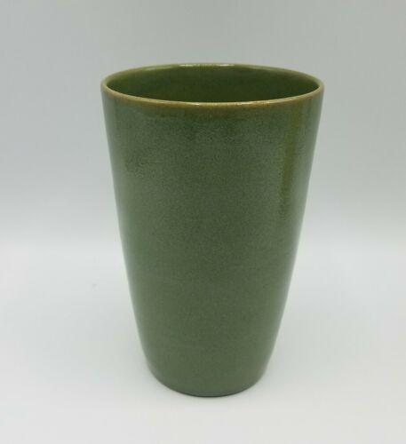 Antique SEG Saturday Evening Girls Pottery Vase, Green, Dated 1915