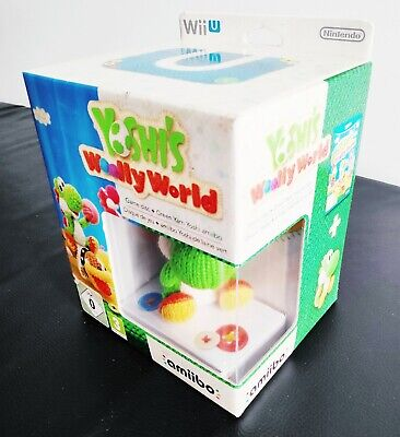 WII U YOSHI´S WOOLLY WORLD + AMIIBO COLLECTOR´S EDITION NEW PAL LIMITED...