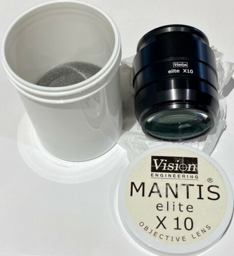 New Vision Engineering Mantis Elite x10 objective lens