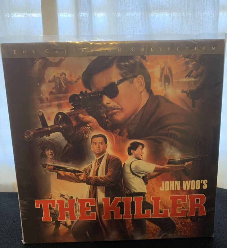 criterion collection the killer Laserdisc HTF Rare See Pics