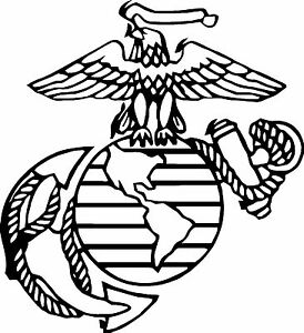 Usmc marine coloring pages for Marine coloring pages