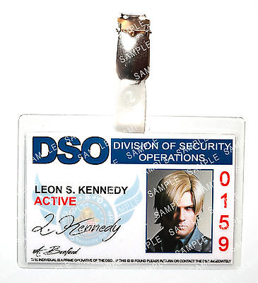 Resident Evil Leon S Kennedy DSO Zombie Cosplay Costume Prop Comic Con Halloween - Leon Kennedy Halloween