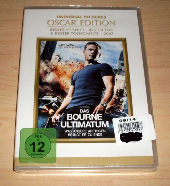 DVD Das Bourne Ultimatum - Matt Damon - Oscar Edition - Bourne 3 Neu OVP
