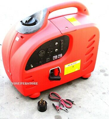 Blackout Emergency Backup 3000 Watt Digital Inverter Gas Generator Wcarb Rv 20a