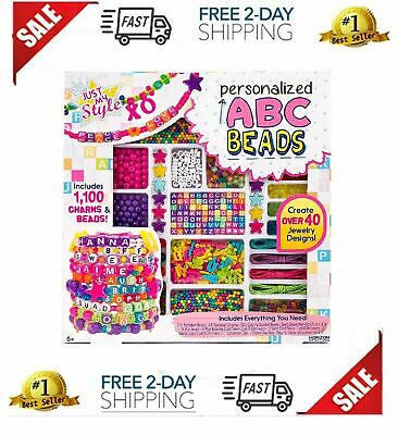 9 Year Old Girl Toys (Gift Set For Girl Jewelry Making Kit Pretend Play Toy 5 6 7 8 9 10 11++ Year)