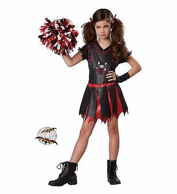 New Varsity Vamp Goth Girl's Totally Ghoul Halloween Costume ](Goth Girl Costumes)