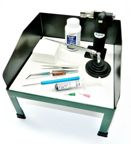 Jewelry Soldering Kit Station with Tools & Supplies to Solder Jewelry & Repairs