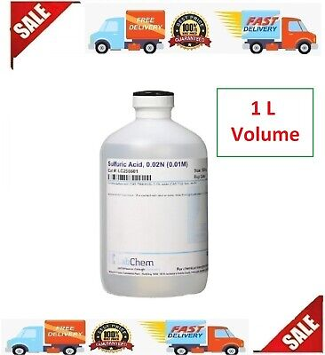 Lc256601 Sulfuric Lab Chemicals Acid 0.02n 0.01m 1 L Volume Industrial