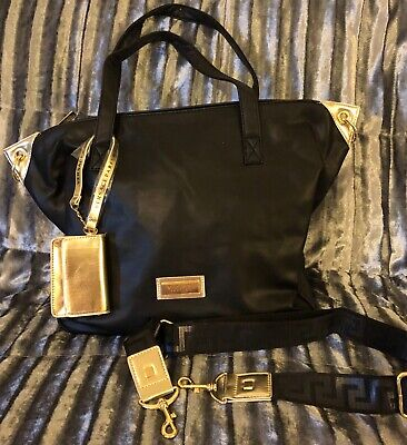 VERSACE  Perfums   Bag & purse, Black/Gold, Brand new+ dust bag