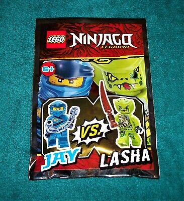 LEGO NINJAGO LEGACY: Jay Vs Lasha Polybag Set 111904 BNSIP