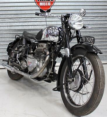 1951 ARIEL SQUARE FOUR 4 1000 MK1 UK REGISTERED CLASSIC BRITISH BIKE BARN FIND