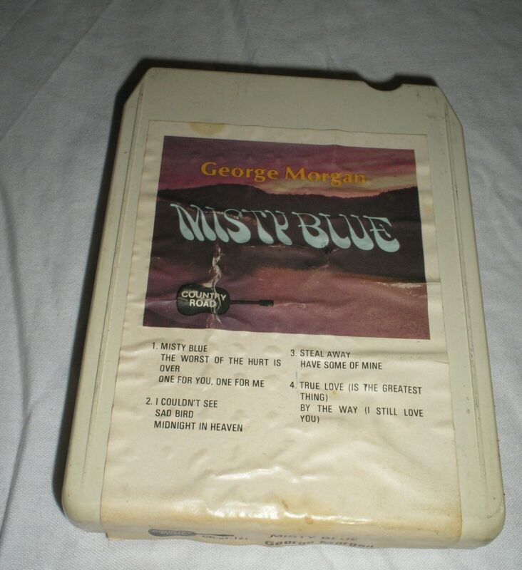 George Morgan - Misty Blue - 8 Eight Track Tape