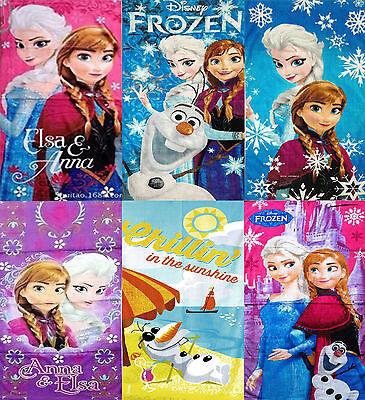 Frozen Elsa Anna Olaf Beach Towel Character Boys Girls Kids Swimming Towel - Childrens Swimming Towels