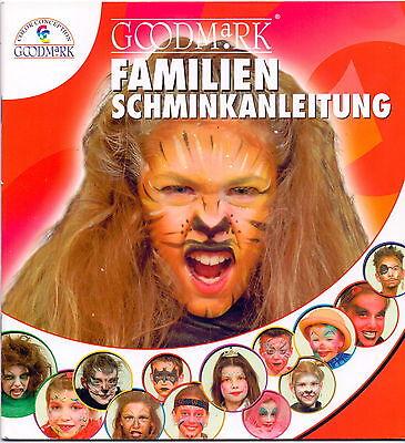 Fasching Karneval Schminktipps Schminkanleitung Zombie Katze Vampir Prinzessin