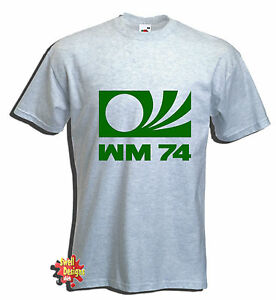 GERMANY 74 World Cup football T shirt All Sizes