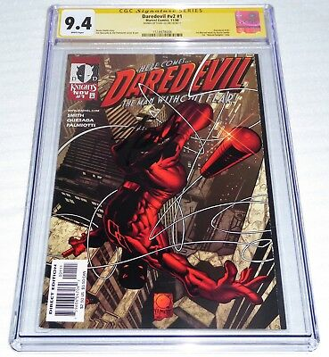 Daredevil #v2 #1 CGC SS Signature Autograph STAN LEE 1st Marvel Knights K. Smith