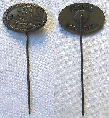 Bronze Abzeichen DLRG Deutsche-Lebens-Rettungs-Gem. Grundschein um 1920 (100279)