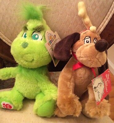Build A Bear Baby Young Mini Grinch & Max the Dog Who Stole Christmas Stuffed](Baby Build A Bear)