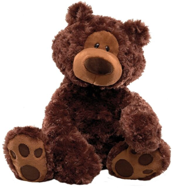 Gund 320047 Philbin Chocolate Brown Bear Large
