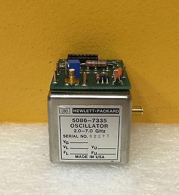 Hp 5086-7335 83590-60067 2 To 7 Ghz Yig Oscillator Assy 5061-1069 Bias Board