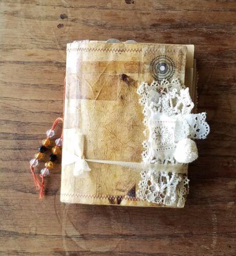 Handmade Vintage Coffee Tea Paper Soft Cover Junk Journal