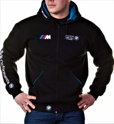 Zip Hoodie BMW  M Power, Motorsport Club, Embroidery logos