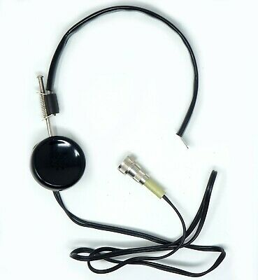 Vintage Headphone Ear Piece For Cd V-700 Cdv-750 Geiger Counter  Ham Radio