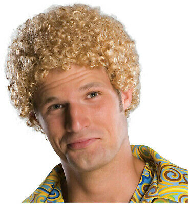 Afro Fro Wig - Justin Timberlake Tight Fro Blonde Afro Wig
