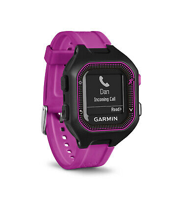 Garmin Forerunner 25 GPS Running Watch 010-01353-20, Small, Black/Purple