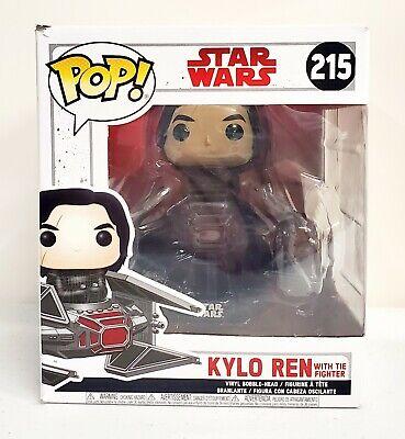 Funko Pop Star Wars The Last Jedi Kylo Ren with Tie Fighter #215 New