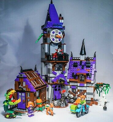 LEGO Scooby-Doo MYSTERY MANSION #75904 100% Complete with Manuals No Box