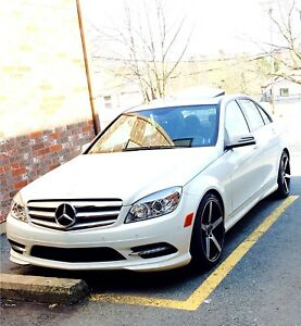 2011 Mercedes Benz c250 4matic AMG package