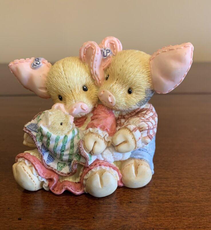 "Enesco 1994 TLP This Little Piggy ""This little Piggy Makes Three"" by Mary Rhyner"