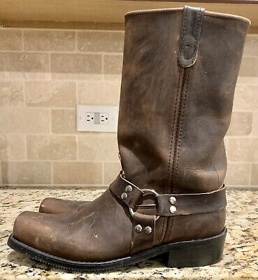 Double H Leather Harness Boots