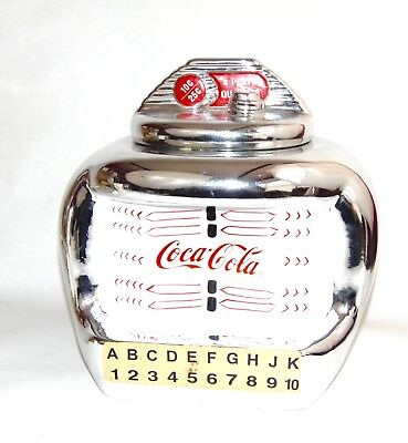 Vintage Cookie Jar ~ Coca-Cola ~ Jukebox ~ 2000