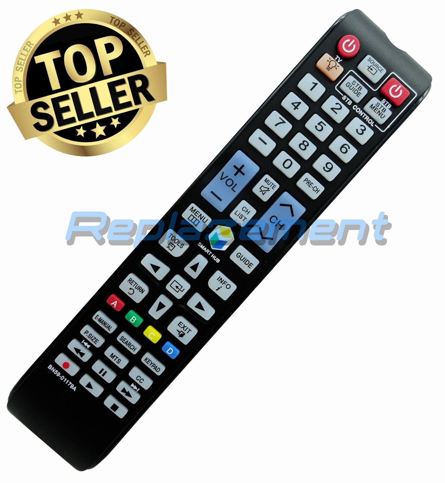 DEHA TV Remote Control for Samsung UA40J6200AW Television
