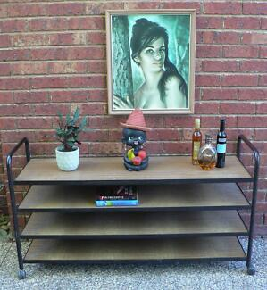 Retro Vintage Shelving Unit Display Stand Heavy Duty Industrial Wantirna South Knox Area Preview