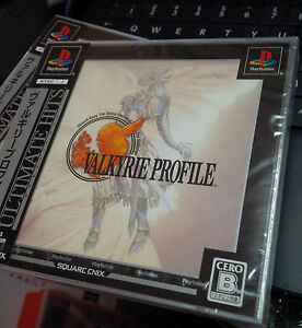 Valkyrie-Profile-Ultimate-Hits-New-and-Sealed-Japanese-PS1-Import