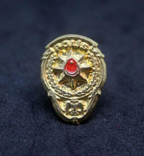 Turkish Police Badge Lapel Pin